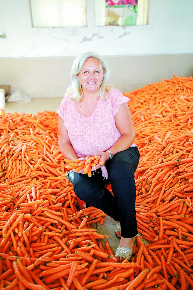 Upoznajte Kađu Pekar koja gaji šargarepe