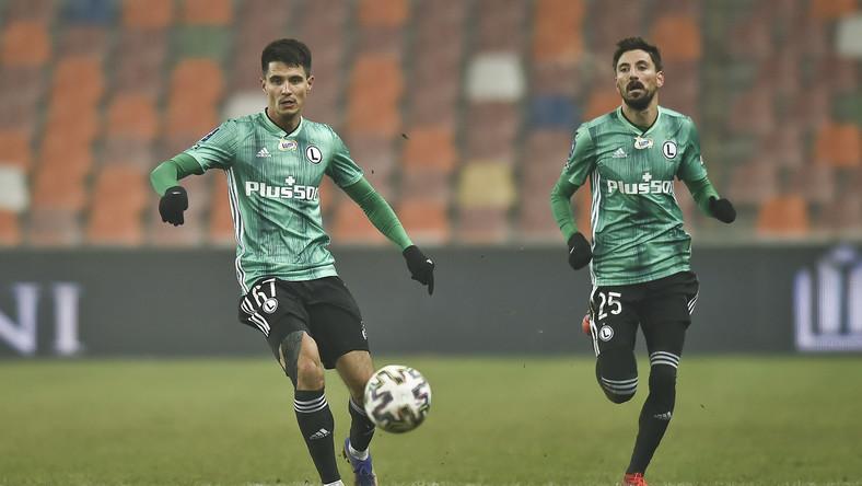 Bartosz Kapustka i Filip Mladenovic
