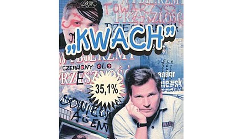 """Książka Danuty Waniek """"Kwach - zapiski sztabowe Danuty Waniek"""", której nie napisała Danuta Waniek"""