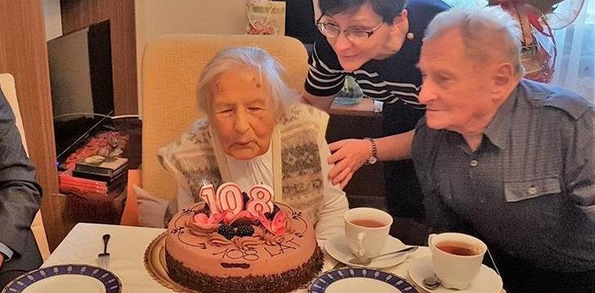 Pani Aniela skończyła 108 lat!