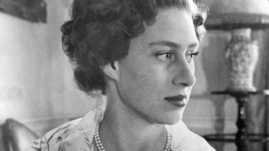 Księżniczka Małgorzata w 1954 r.