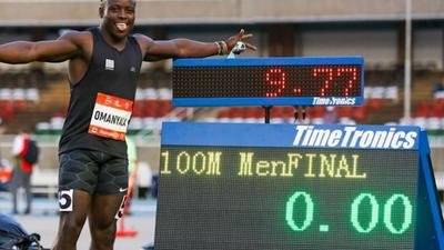 Omanyala: Why I was minutes from quitting record breaking race [Video]