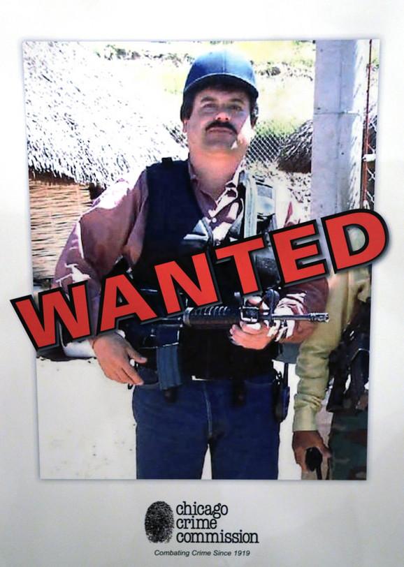 Hoakin Guzman, El Čapo, šef meksičkog narko-kartela, okrakterisan kao