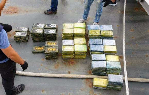 Kokain zaplena srpska kriminalna grupa