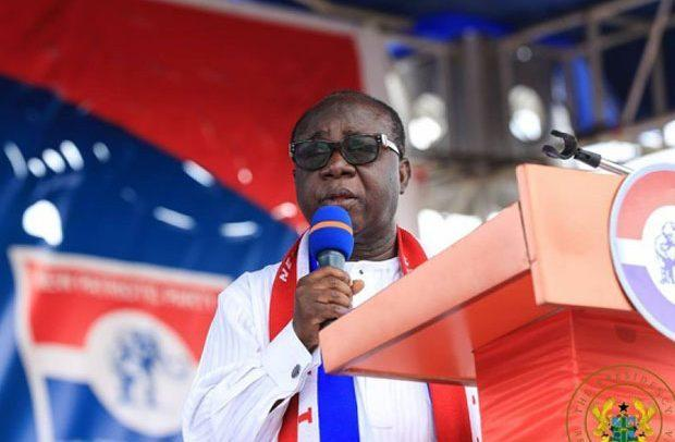 Newly-elected NPP National Chairman, Freddie Blay