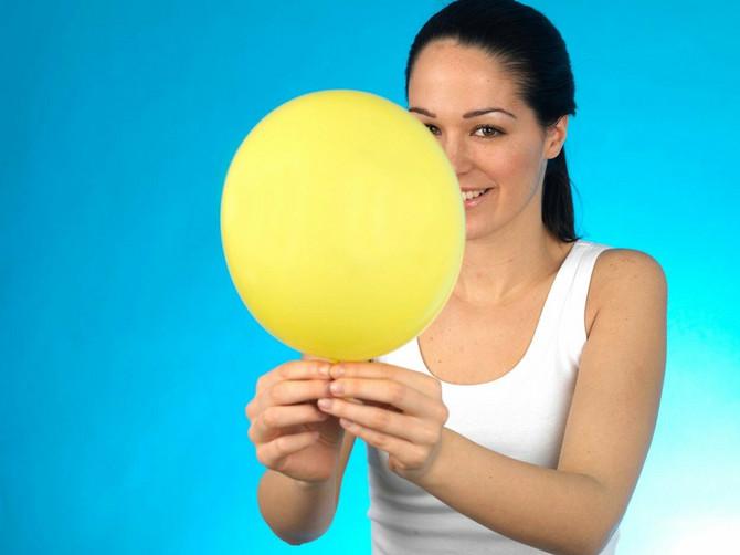 Koliko možete da naduvate balon jednim izdahom?