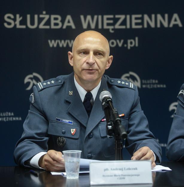 Dyrektor Biura Penitencjarnego CZSW płk Andrzej Leńczuk, PAP/Jakub Kamiński
