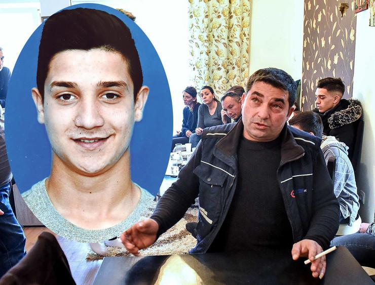 kolaz Kragujevac Raca porodica poginulog mladica Zikice otac Igor Velickovic 301119 RAS foto Nebojsa Raus08