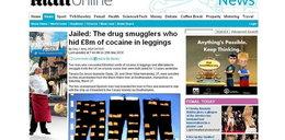 Przemycali kokainę w kalesonach