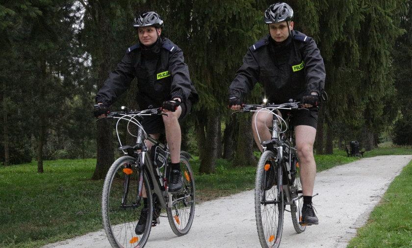 patrol rowerowy policja