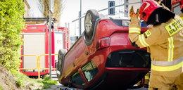 Kierowca miał farta. Jak on to zrobił?