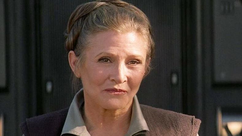 """Carrie Fisher w filmie """"Gwiezdne wojny: Przebudzenie mocy"""""""