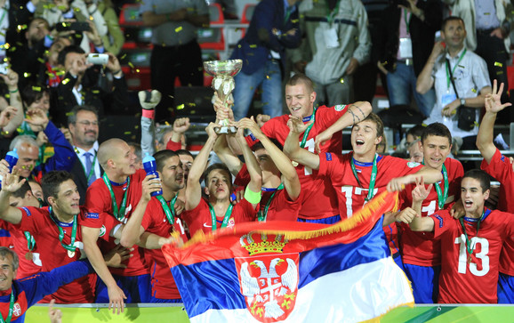 Omladinska fudbalska reprezentacija Srbije 2013.