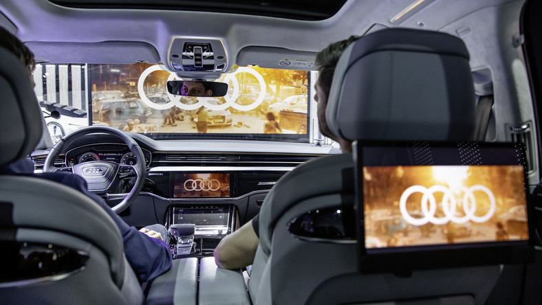 Kino samochodowe Audi Immersive In-Car Entertainment