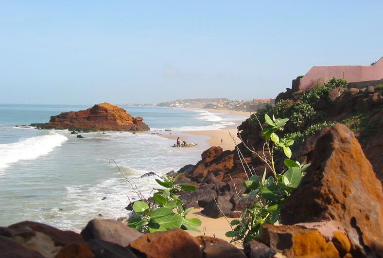 Party on the beaches of Dakar, Senegal.