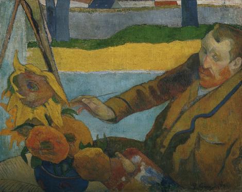 Pol Gogen, Slikar suncokreta, 1888.