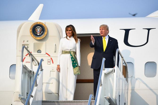 Melanija Tramp sa suprugom Donaldom Trampom stiže u Indiju