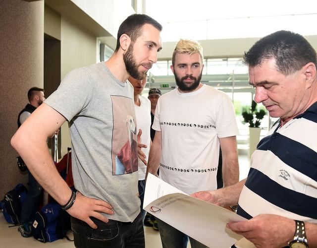 Nemanja Petrić, Uroš Kovačević, Ljuban Martinović
