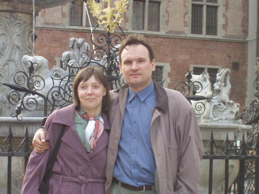 Emilia Bendik († 35 l.) z mężem