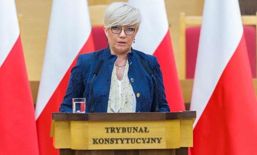Na zdjęciu prezes TK Julia Przyłębska.