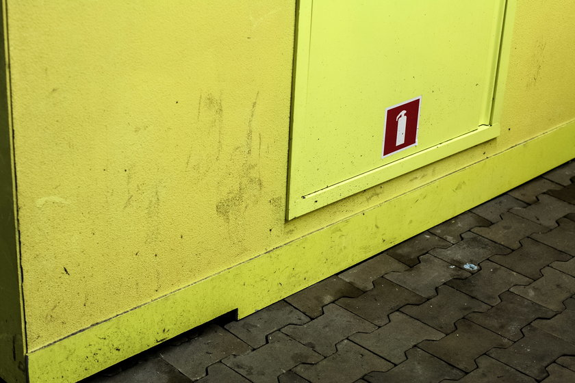 Dworzec w Katowicach pomimo niedawnego otwarcia jest już bardzo brudny