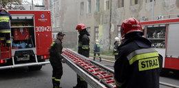 Pożar w Ozorkowie