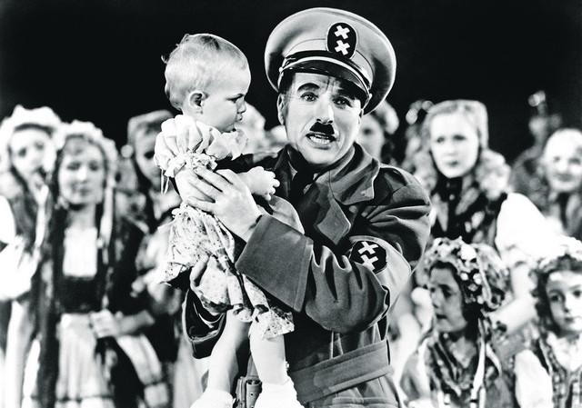 Čarli Čaplin, Veliki diktator