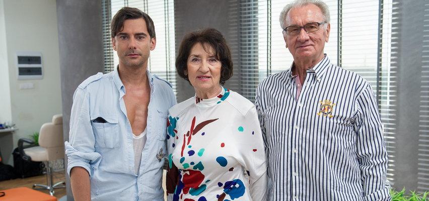 Marcin Tyszka pokazał mamę. Ma 81 lat i jest ...