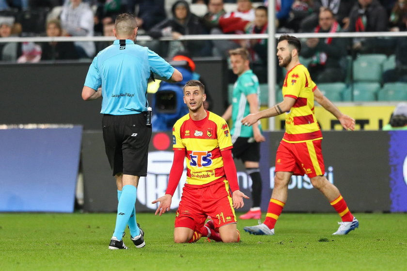 Ekstraklasa piłkarska: Legia - Jagiellonia 4:0
