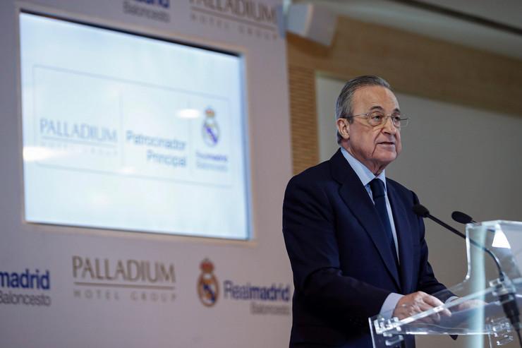 Predsednik Real Madrida Florentino Perez