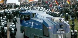 Demonstracja w Kolonii. Użyto gazu łzawiącego i armatek wodnych