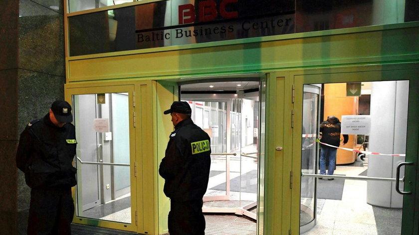 Strzelanina w siedzibie agencji Reuters w Gdyni