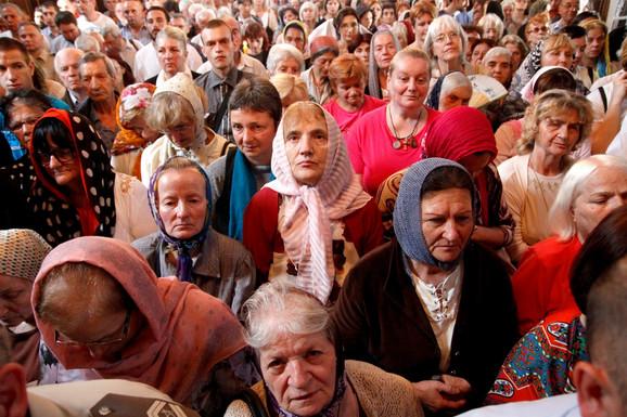 Liturgija u Vaznesenjskoj crkvi