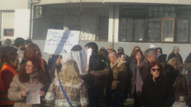 Protest na Čukaričkoj padini