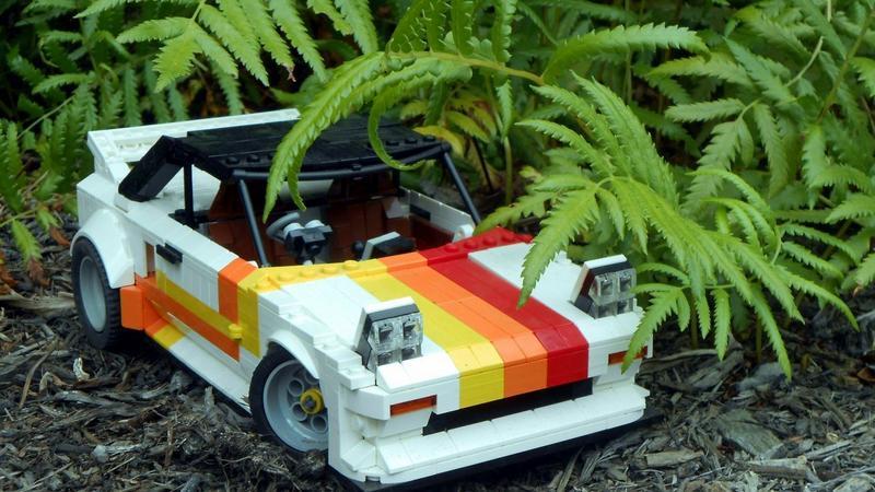 Toyota z Lego