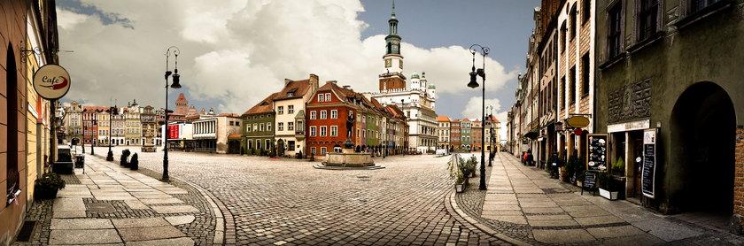 Poznań goni Warszawę