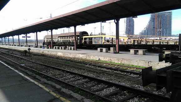 Samo jedan voz na stanici