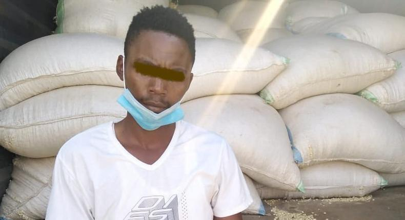 Man arrested with 25 drums of Ethanol jailed for One year