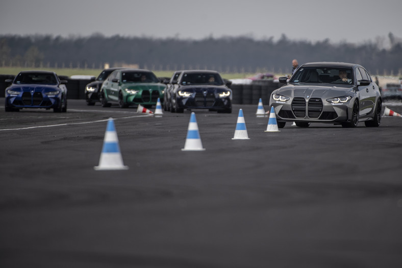 BMW M3 Competition i BMW M4 Competition na Torze Silesia Ring