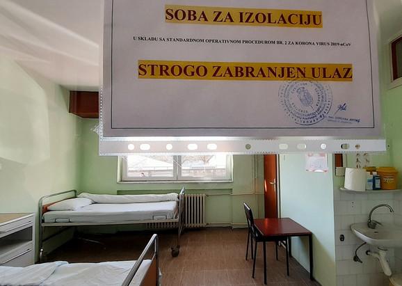 soba za izolaciju u bolnici zbog korona virusa 060320 RAS foto Biljana Vuckovic 010