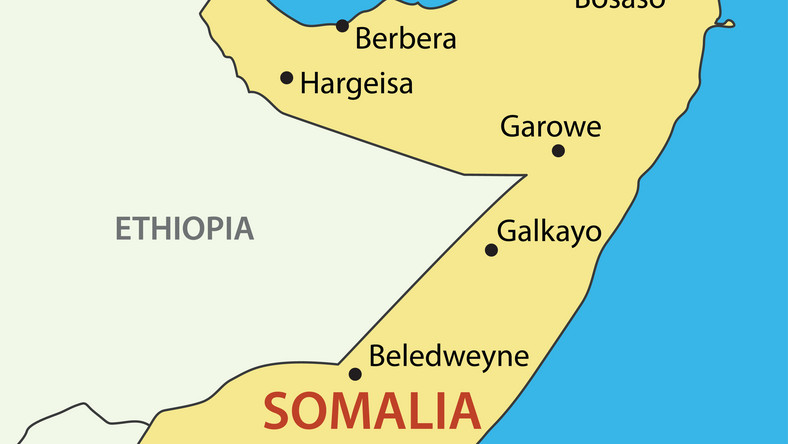 Mapa Somalii