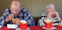 99-latek spróbował McDonalda pierwszy raz w życiu. Oto jego reakcja