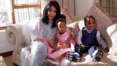 Zari Hassan, her kids Tiffah and Nillan head to Tanzania to see Diamond (Photos)