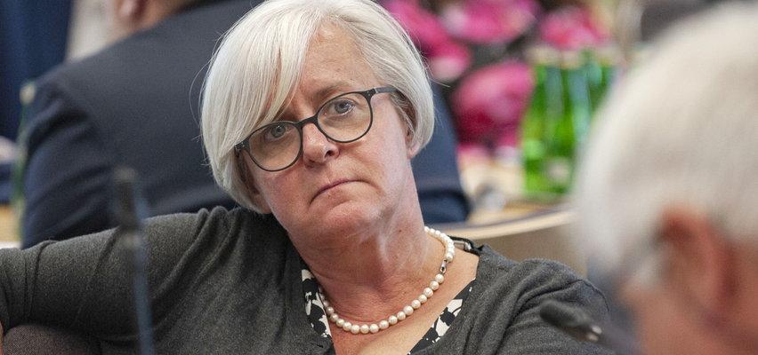 """Joanna Kluzik-Rostkowska przed zjazdem władz PO mówi Faktowi: """"Budka powinien zrobić miejsce Tuskowi"""""""