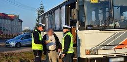 Skontrolowali autobusy szkolne. FILM
