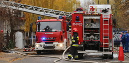 Pożar w Rybniku. Dzieci trafiły do szpitala