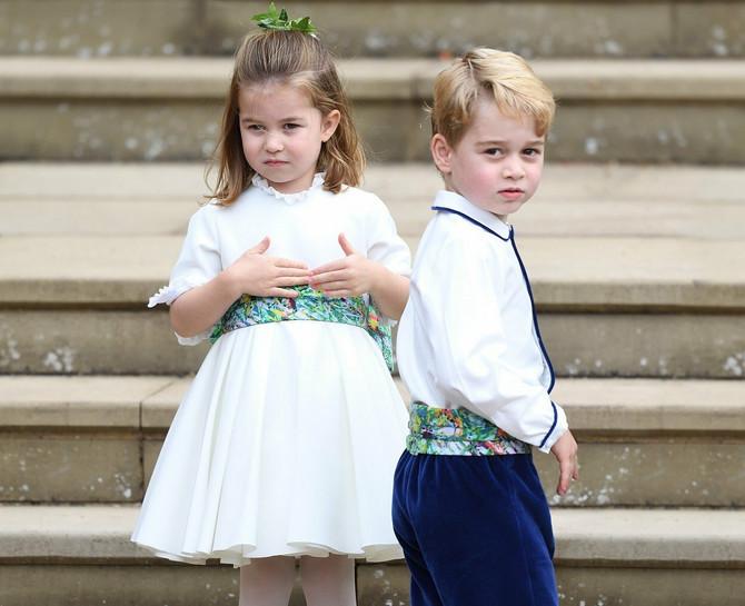 Princeza Šarlot i princ Džordž