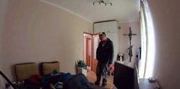 Miał wyremontować pokój. Kamera nagrała szokujące zachowanie