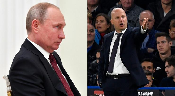Marko Nikolić i Vladimir Putin