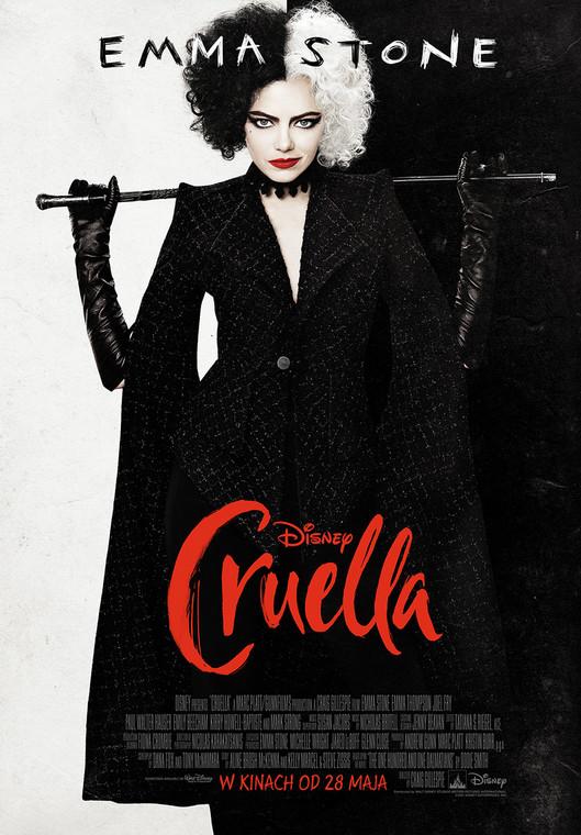 """""""Cruella"""": movie poster"""